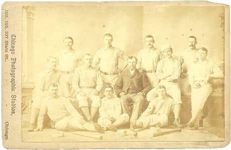 1882 Providence BB Club Cabinet