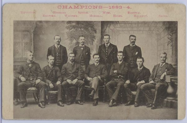 1884 Boston Beaneaters Champions