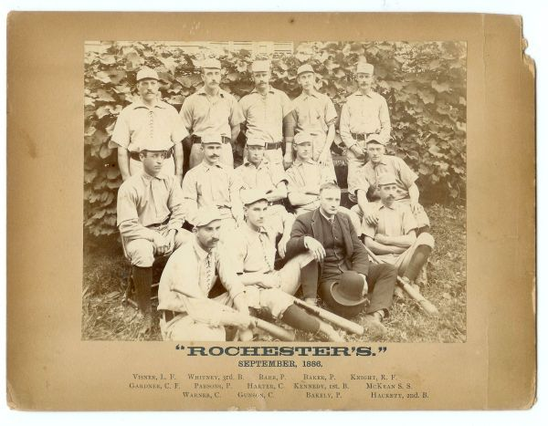 1886 Rochesters Team Photo
