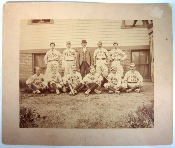 1887 PCL Pioneers Team Photo 2