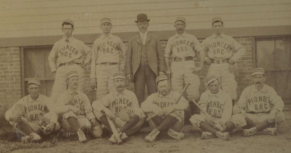 1887 PCL Pioneers Team Photo