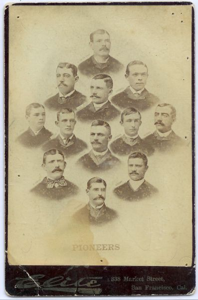 1887 PCL San Francisco Pioneers Composite