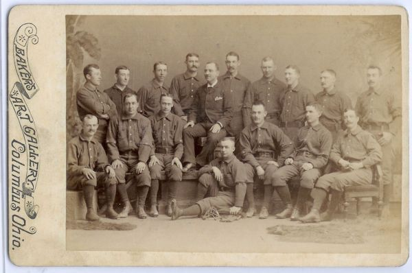 1889 Bakers Rochester Team Photo