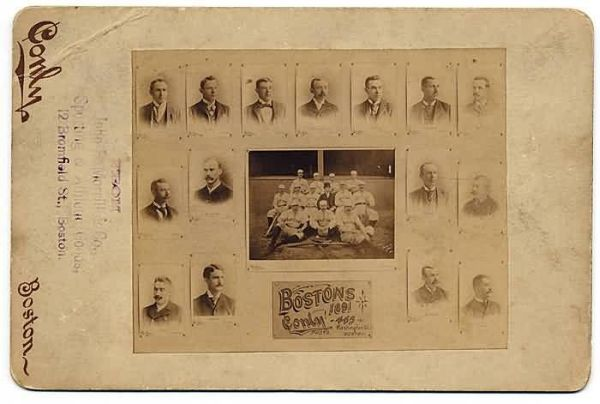 1891 Conly Bostons Cabinet Card