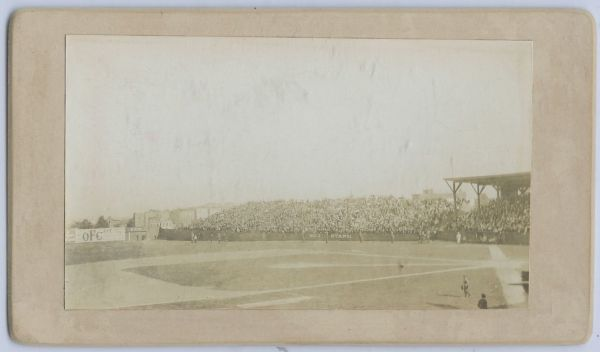 1904 Cabinet Opening Day NY Highlanders