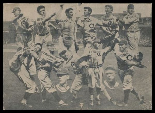 1912 Burke and Atwell Premium Cubs
