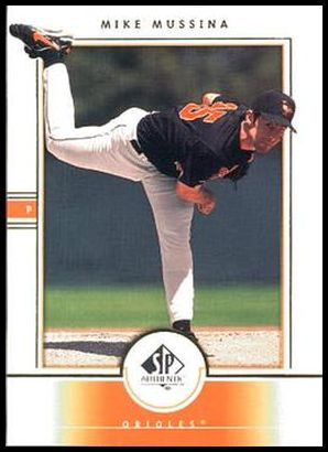 21 Mike Mussina