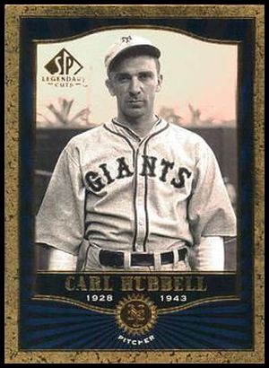 38 Carl Hubbell