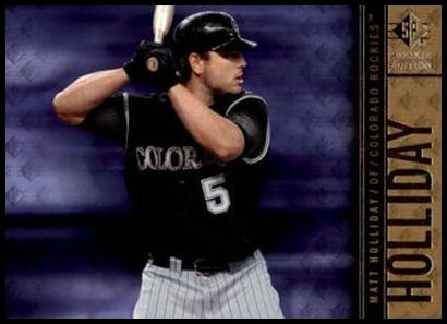 16 Matt Holliday