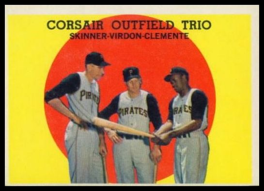 543 Corsair Outfield Trio
