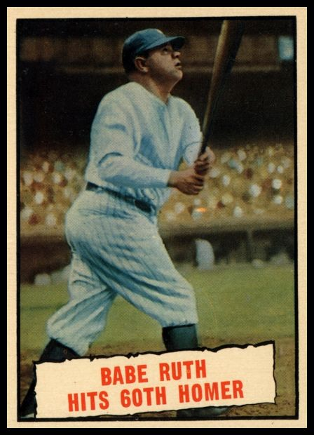 401 Babe Ruth Hits 60th Homer