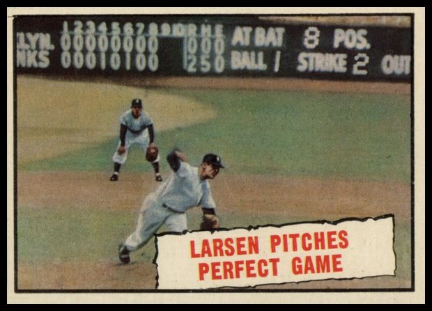 402 Larsen Pitches Perfect Game