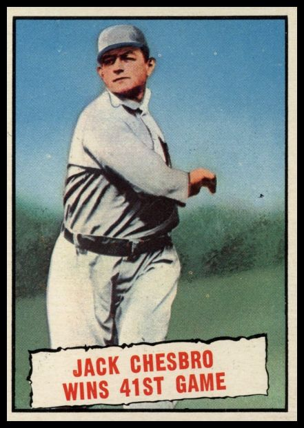 407 Jack Chesbro WIns 41st Game