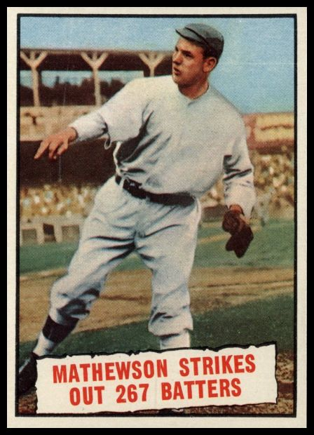 408 Mathewson Strikes Out 267 Batters