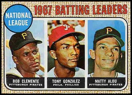 1 N.L. Batting Leaders