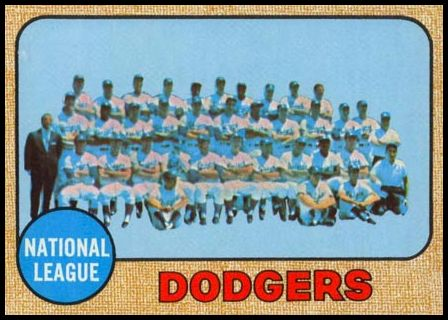 168 Los Angeles Dodgers