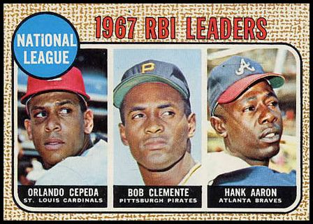 3 N.L. RBI Leaders