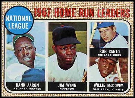 5 N.L. Home Run Leaders