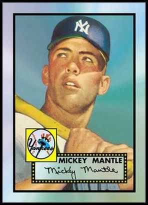 1 Mickey Mantle 1952