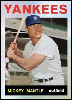 13 Mickey Mantle 1964