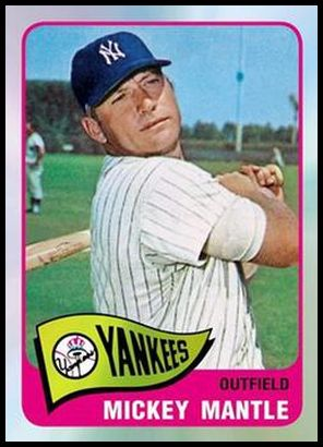 14 Mickey Mantle 1965