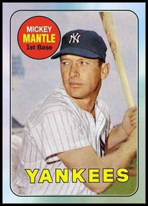 18 Mickey Mantle 1969