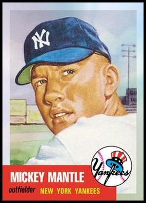 2 Mickey Mantle 1953