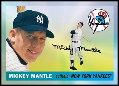 4 Mickey Mantle 1955