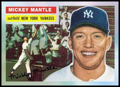 5 Mickey Mantle 1956
