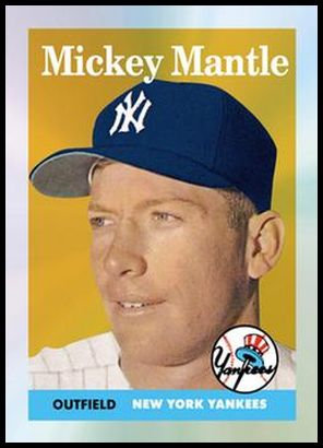 7 Mickey Mantle 1958