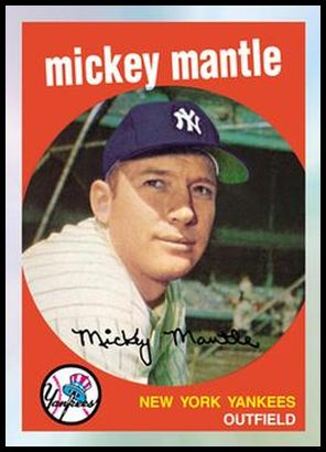 8 Mickey Mantle 1959
