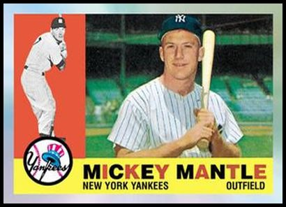 9 Mickey Mantle 1960