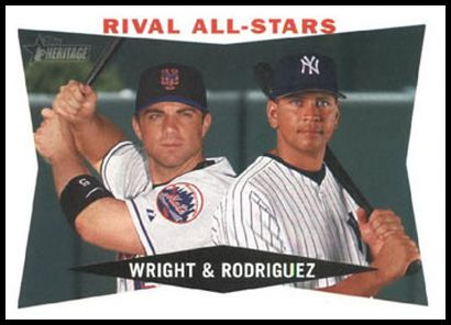 160 Rival All-Stars (David Wright Alex Rodriguez) AS