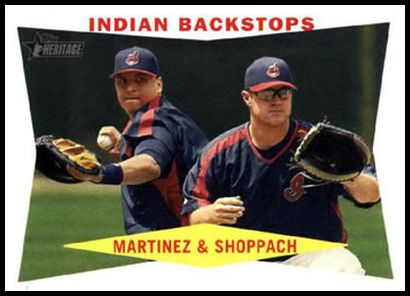 292 Indian Backstops (Victor Martinez Kelly Shoppach)