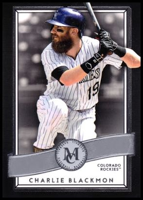 87 Charlie Blackmon