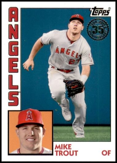 T84-41 Mike Trout