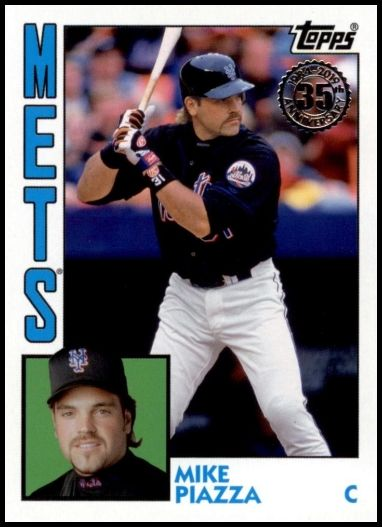 T84-43 Mike Piazza