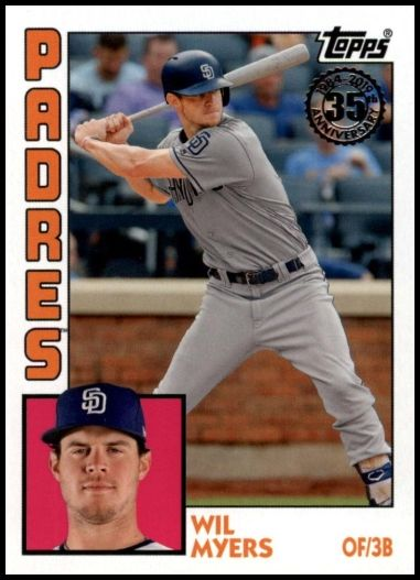 T84-87 Wil Myers