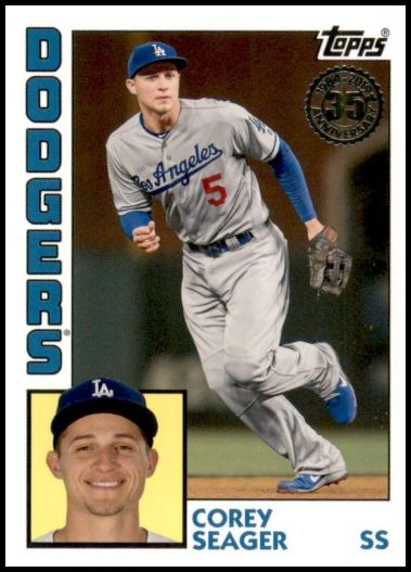 T84-94 Corey Seager