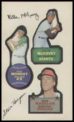 7a Willie McCovey Rick Monday Steve Hargan