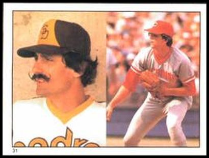 31 Rollie Fingers Tom Hume