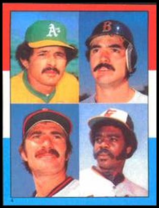 4 AL HR (Tony Armas Bobby Grich Dwight Evans Eddie Murray)