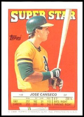48 Jose Canseco