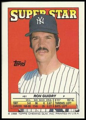 61 Ron Guidry