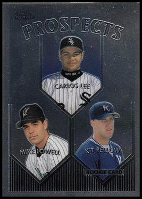 425 Carlos Lee Mike Lowell Kit Pellow