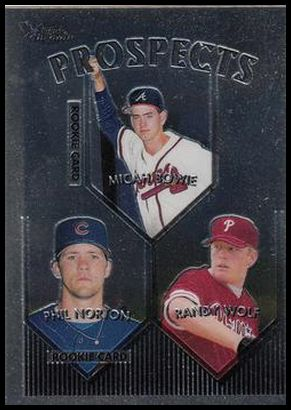 428 Micah Bowie Phil Norton Randy Wolf RC