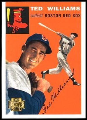 25 Ted Williams