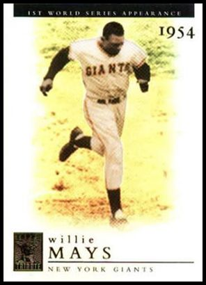 1 Willie Mays
