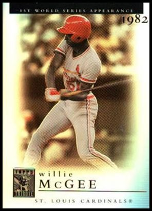 41 Willie McGee