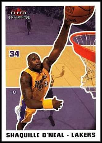 167 Shaquille O'Neal